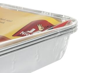 Jan niezbędny foremki aluminiowe do pieczenia 3 sztuki
