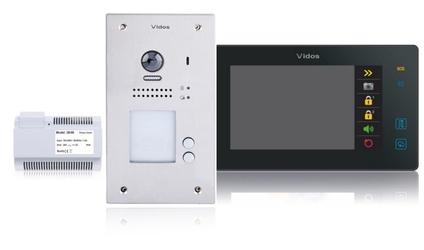 Wideodomofon 2-rodzinny vidos duo 2 x m1021b  s1202a - możliwość montażu - zadzwoń: 34 333 57 04 - 37 sklepów w całej polsce