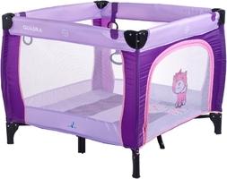 Caretero quadra purple kojec dla dziecka + puzzle