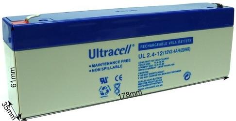 Akumulator agm ultracell ul 12v 2.4ah żelowy - szybka dostawa lub możliwość odbioru w 39 miastach