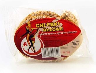 Chlebki ryżowe cynamon 65g