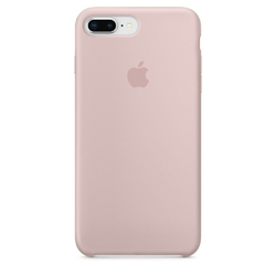 Apple iPhone 8 Plus  7 Plus Silicone Case - Pink Sand