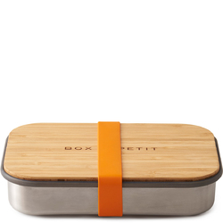Stalowy pojemnik na kanapki Sandwich Box Black Blum pomarańczowy BAM-SB003