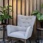 Nordic line :: fotel tapicerowany dixi 74x98x85 cm