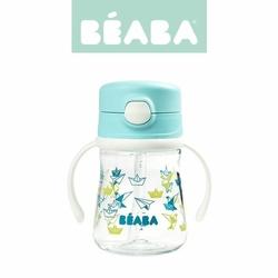 Butelka-bidon tritanowa ze słomką 240 ml Light blue, Beaba