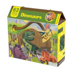 Mudpuppy Puzzle - 63 elementy Dinozaury