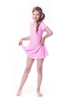 Shepa kostium gimnastyczny ze spódniczką b9