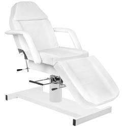 Fotel kosmetyczny hyd. a 210 biały