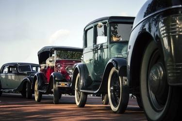 Fototapeta stare samochody fp 2355