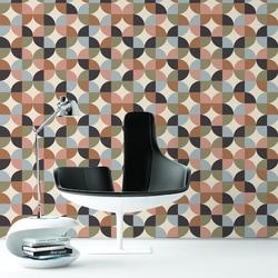 Tapeta na ścianę - pastel quarter , rodzaj - próbka tapety 50x50cm