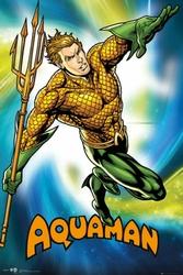 DC Comics Liga Sprawiedliwych - Aquaman - plakat