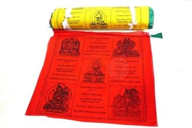 Flagi modlitewne z mantrami długość 800cm