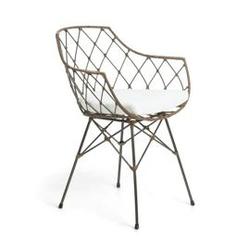 Krzesło energy 63x59 cm brązowe