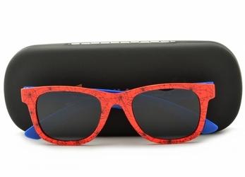 Okulary dziecięce nerdy polaryzacyjne spiderman pol-jr-25