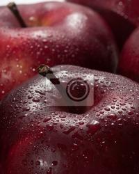 Obraz czerwone jabłka