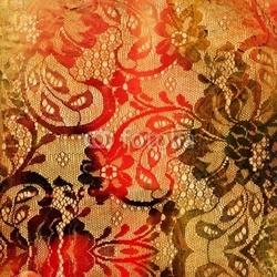 Naklejka samoprzylepna tło dekoracyjne koronkowy rocznika