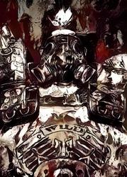 Legends of bedlam - roadhog, overwatch - plakat wymiar do wyboru: 21x29,7 cm
