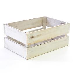 Drewniana skrzynia m 47x29,5 pudełko na wino vintage