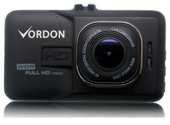 Vordon Rejestrator samochodowy DVR-140 Metalowy FHD