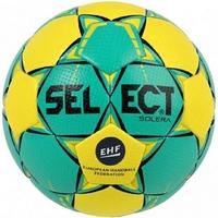 Piłka ręczna select solera mini 0 żółto-zielona