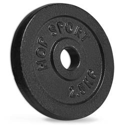 Obciążenie żeliwne 2,5 kg - hop sport - 2,5 kg