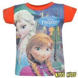 Koszulka frozen elsa  anna pomarańczowa 2 lata
