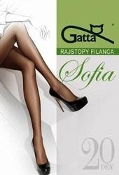 Gatta Sofia 20 den 5-XL, 3-Max rajstopy