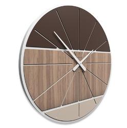 Zegar ścienny benjamin calleadesign jasny dąb 10-214-81