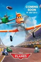 Samoloty planes teaser - plakat