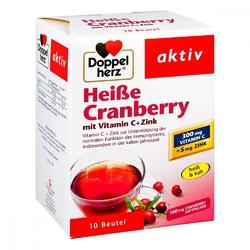 Doppelherz heiße cranberry granulat żurawinowy z wit.c + cynk