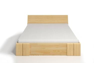 Łóżko drewniane sosnowe z szufladami skandica vestre maxi  dr
