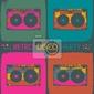 Plakat retro zaproszenia w stylu disco party pop-art. wektor, eps8