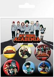 My Hero Academia - przypinki