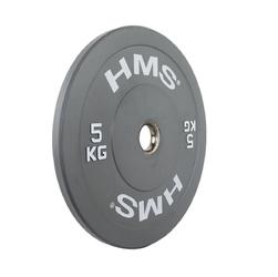 Obciążenie olimpijskie gumowane cbr05 5 kg - hms - 5 kg