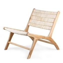 Hkliving :: fotel z drewna tekowego  abaka