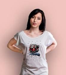 Antmanulka t-shirt damski biały xxl