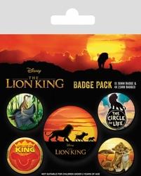 The Lion King Life of a King - przypinki