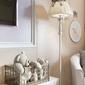 Lampa podłogowa ze szklanym ptakiem bird maytoni classic arm013-22-w