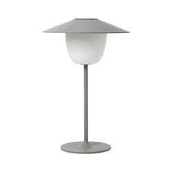 Lampa led 33 cm szara ani lamp blomus
