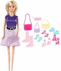 Lalka anlily - kolekcja butów - blondynka