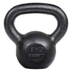 Hantla kettlebell żeliwna kzg 8 kg - hms - 8 kg