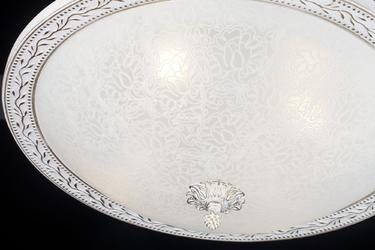 Duży, klasyczny plafon, biało-złoty aritos maytoni classic c906-cl-04-w