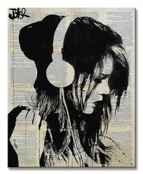 Melodies solace - obraz na płótnie