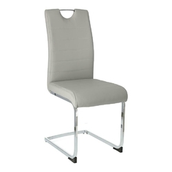 Krzesło k104 laura jasny szary