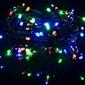 Lampki 40 led - programator - światełka biało-kolorowe