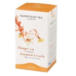 Hampstead | shangri la honeybush  vanilla - herbatka z miodokrzewem i wanilią saszetki 25g | organic