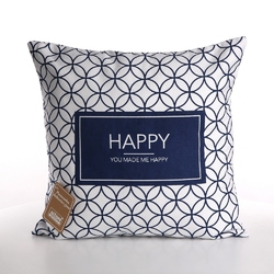 Poszewka na poduszkę dekoracyjna altom design hampton happy 40 x 40 cm