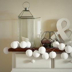 Girlanda świetlna cotton ball white 35