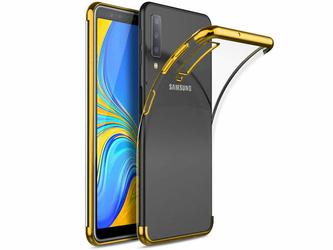 Etui Alogy Liquid Armor Samsung Galaxy A7 2018 Złote - Złoty