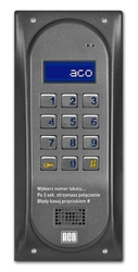 Aco cdnp6s st centrala domofonowa grzałka lcd. - szybka dostawa lub możliwość odbioru w 39 miastach